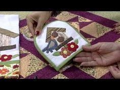 MPC 150505 CLAUDETE MESSIAS PORTA PANO DE COPA COM RETALHOS PT2 - YouTube