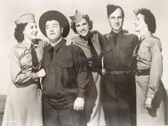 The Andrews Sisters and Abbott and Costello