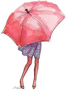 Rain drops fallin' down my head...