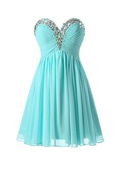 A-line Sweetheart Mini Chiffon Evening Gowns Homecoming Dresses PG059