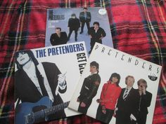 Pretenders 3 Vinyl LP album Bundle Pretenders, Get Close & Learning To Crawl