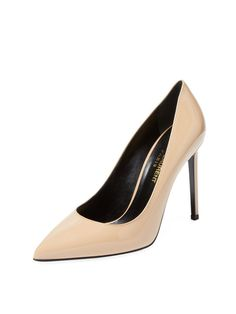 Classic Pairs Skinny Patent Leather Pump Pompe Tacco Alto 8e7bd1ee2df
