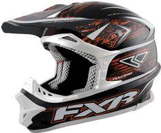 FXR Racing - Snowmobile Sled Gear - Blade Super Lite Helmet - Blk/Org Warp Snowmobile Helmets, Best Atv, Atv Riding, Sled, Go Outside, Snowmobiles, Racing, Website, Hard Hats