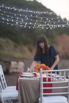 Dinner Party beneath the Golden Gate Bridge