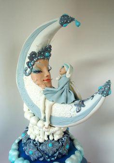 La Luna - Cake by Eugenia Veselova