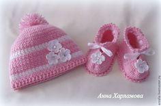 """Одежда для девочек, ручной работы. Ярмарка Мастеров - ручная работа Комплект """"Розовый зефир"""". Handmade."""