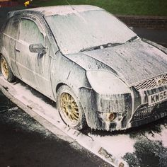Snow foam madness Madness, Ford, Snow, Ford Trucks, Eyes, Ford Expedition, Let It Snow