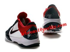 new style 165b0 96b19 Nike Zoom Kobe V Shoes WhiteBlueRed Kobe 5 Shoes, Kd Shoes