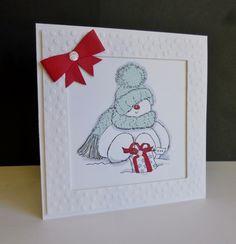 FS505 ~ Sweet Snowman by sistersandie - Cards and Paper Crafts at Splitcoaststampers