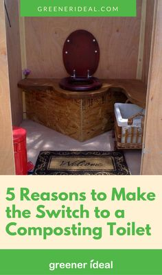 For those who are on the fence, and aren't quite sure why a composting toilet is such a good idea, we've compiled a list of five excellent reasons why you should consider making the switch.