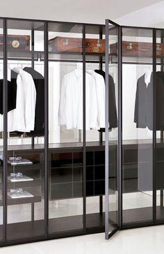 Glass Wardrobe //