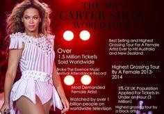 Beyoncé - Mrs Carter Show 2013 - 2014