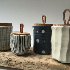 Shabby shack 48827 boho vintage unusual pottery glass asian porcelain anniversary items closed for the season see you in the spring Ceramic Pottery, Pottery Art, Ceramic Art, Sgraffito, Cerámica Ideas, Keramik Design, Tea Jar, Ceramic Boxes, Pottery Classes