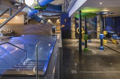 Kids Acquaworld at the Falkensteiner Club Funimation Katschberg, Carinthia, Austria Giant Water Slide, Water Slides, Indoor Climbing Wall, Carinthia, Hotel Spa, 4 Star Hotels, Austria, Entertaining, Kids