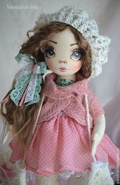 Купить Василиса, Авторская куколка ручной работы! - морская волна, авторская кукла, волосы, кукла