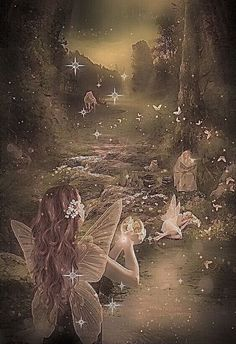 Arte Emo, Theme Forest, Photocollage, Nature Aesthetic, Fairytale Art, Forest Fairy, Photo Wall Collage, Fairy Art, Psychedelic Art