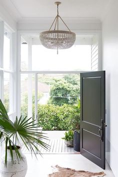 Black Front Doors - The Stylist Splash
