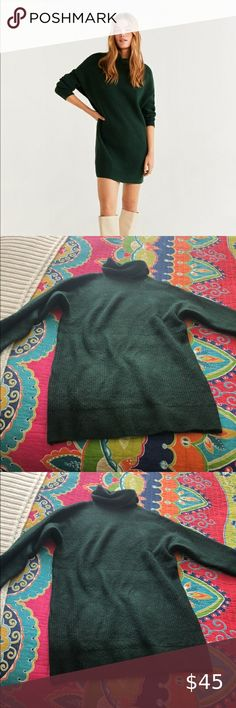 Mango Sweater Dress Size M Worn 1x Excellent condition Size M Mango Dresses Long Sleeve