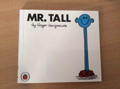 Mr Tall Little Miss Books