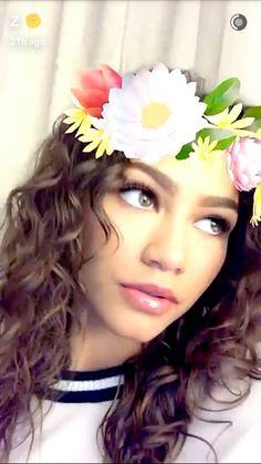 Zendaya on Snapchat-3/14/17