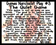 Narc games the quiet game