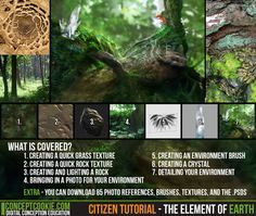 Citizen Tutorial - The Element of Earth by ConceptCookie.deviantart.com on @deviantART