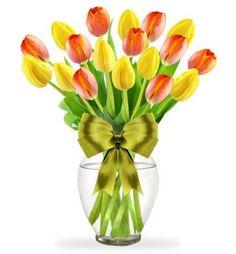 Arreglo de Tulipanes 20 Sonrisas