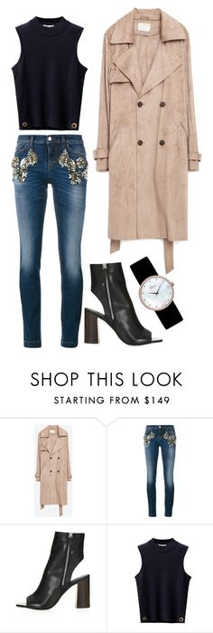 """""""Untitled #2162"""" by moria801 ❤ liked on Polyvore featuring Zara, Dolce&Gabbana, Topshop and Christian Dior"""