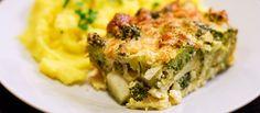 Brokolicový nákyp Recept na ľahký bezmäsitý obed alebo večeru. #vegetariansky #recept #bezmäsa #brokolica http://varme.dennikn.sk/recipe/brokolicovy-nakyp/