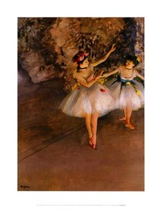 Degas - Two Dancers on a Stage