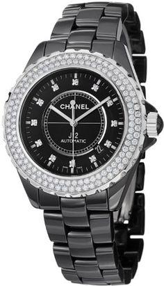 Chanel J12 Black Diamond Dial and Bezel Mens Watch H2014 CHANEL http://www.amazon.com/dp/B00E8NBEJQ/ref=cm_sw_r_pi_dp_R.u4tb1WY115H