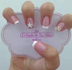 Chic Nails, Dope Nails, Stylish Nails, My Nails, Manicure Nail Designs, Nail Manicure, Nail Polish, Pale Pink Nails, Vintage Nails