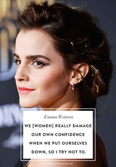See 12 of the best quotes from Emma Watson on being a woman and living your best life. : See 12 of the best quotes from Emma Watson on being a woman and living your best life. Good Woman Quotes, Strong Women Quotes, Girl Quotes, True Quotes, Quotes Quotes, Qoutes, Sport Quotes, Empowerment Quotes, Women Empowerment
