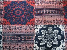 Antique Vtg Hand Loomed Jacquard Quilt Coverlet Americana CA 1850'S | eBay