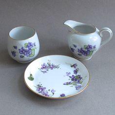 Royal Munich Bavarian Porcelain Bowls Hand Painted Fruits