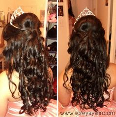 I WANT this for my Quince hair! I need to show this to my hair dresser for the Quince day!!! :D