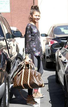 OMG! Her bag! <3