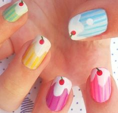 i really enjoy these, but i think i would want to eat my nails all the time..