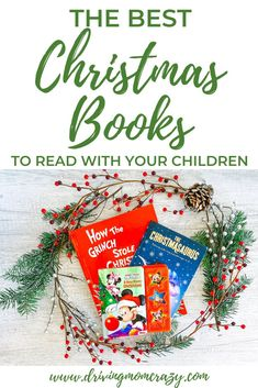 Childrens books with Christmas themes are a great addition to your Christmas traditions // Driving Mom Crazy -- Best Christmas Books, A Christmas Story, Family Christmas, Christmas Themes, All Things Christmas, Christmas Activities For Kids, Toddler Christmas, Family Activities, Happy Mom