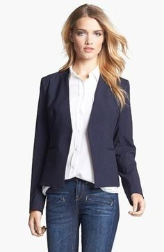 Super flattering Theory blazer - great for work!