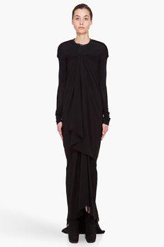 Indie Designs Rick Owens Inspired Women Draped Jersey Dress ($145.00) - Svpply