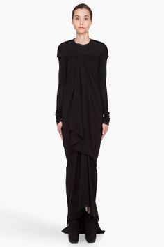 Indie Designs Rick Owens Inspired Women Draped Jersey Dress ($145.00) - Svpply
