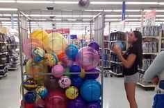 Walmart Ball Pit...this is hilarious!