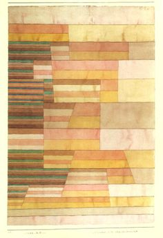 patternprints journal: PATTERNS, COLOR BLOCKS AND MODULAR SIGNS IN PAUL KLEE'S MASTERPIECES