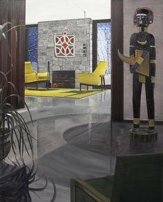 Graham Fletcher - Kiwi artist so cool Lounge, Indoor, Cool Stuff, Architecture, Kiwi, Gallery, Graham, Room, Painting