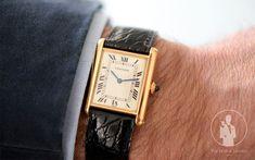 Cartier Tank 18K Gold Circa. 1980 - Visuel Copyright TheWatchLounge.com