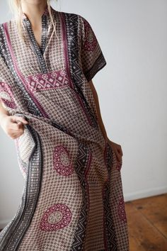 Emerson Fry for Mavenhaus Collective Caftan in Rhodolite ***here today and gone to soon.... #mavenhauscollective #slowfashion