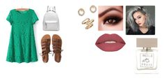 """Wednesday"" by isabellasmall on Polyvore featuring Aéropostale, Smashbox, Bella Freud, Alexis Bittar and Topshop"