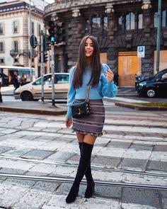 """5,815 kedvelés, 202 hozzászólás – Janina Pfau   LOVE & URBAN (@janina_who) Instagram-hozzászólása: """"Grateful for small things, big things and everything in between 🖤 Ciao Milano, until next time!…"""""""