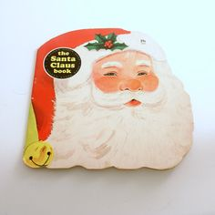 The Santa Claus Book Vintage Christmas Book Childrens Book by efinegifts on Etsy
